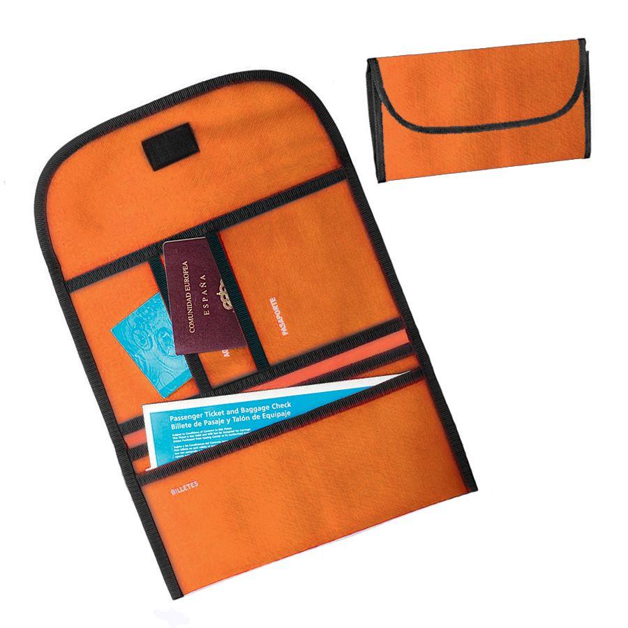 """Органайзер дорожный """"Tour"""", оранжевый , 34х16х15 см; полиэстер 300D; шелкография"""