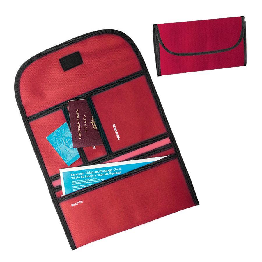 Органайзер дорожный «Tour»,  красный , 34х16х15 см; полиэстер 300D; шелкография