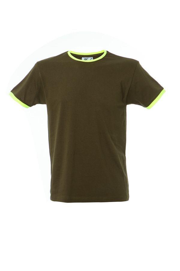 LIPSIA футболка круглый вырез армейско-зеленый, размер XL