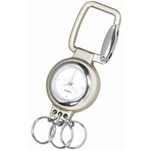 """Брелок """"Часы""""; 7,2х3х0,8 см; металл; лазерная гравировка"""
