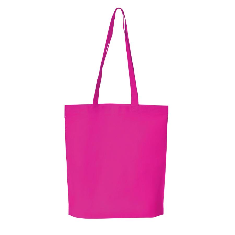 """Сумка для покупок """"PROMO"""";  розовый ; 38 x 45 x 8,5 см;  нетканый 80г/м2"""