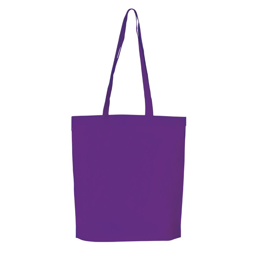 Сумка для покупок «PROMO»;  фиолетовый  ; 38 x 45 x 8,5 см;  нетканый 80г/м2