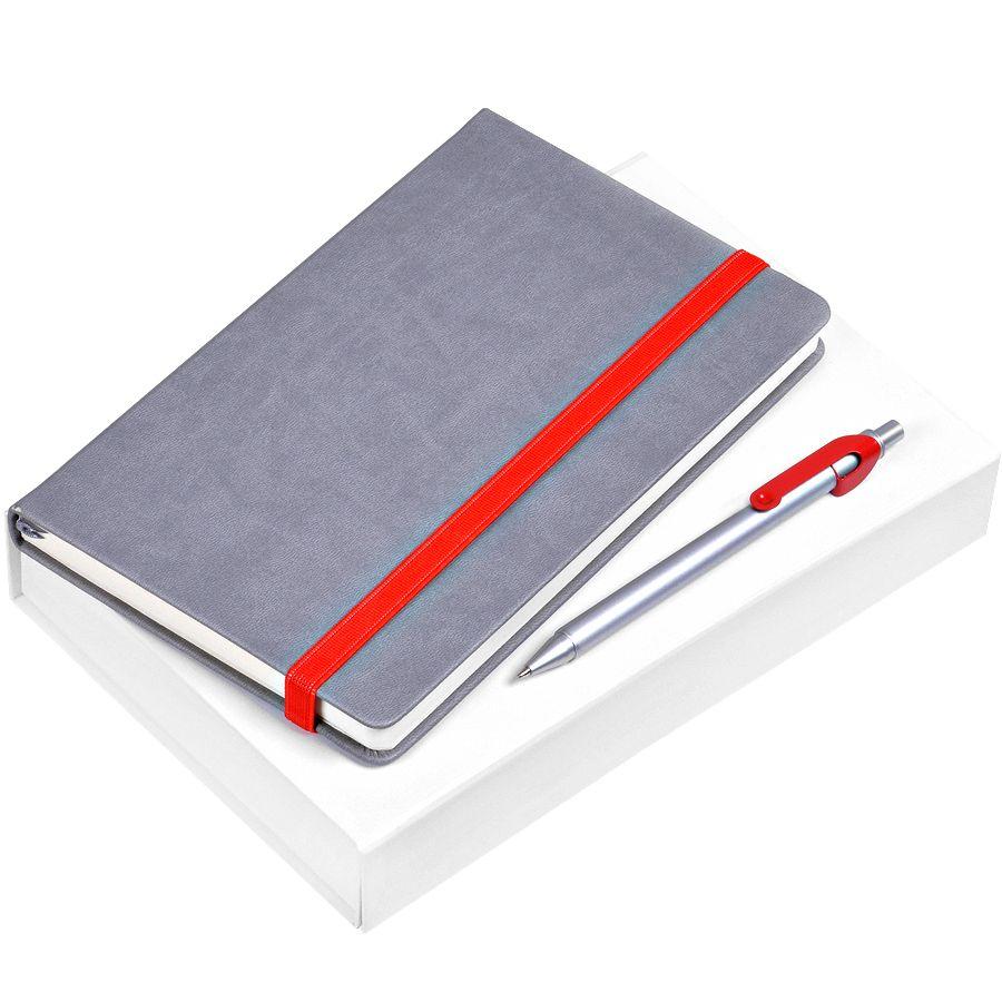 Фотография товара Набор подарочный «Fancy»: блокнот арт. 21200/08, ручка арт. 19603/08