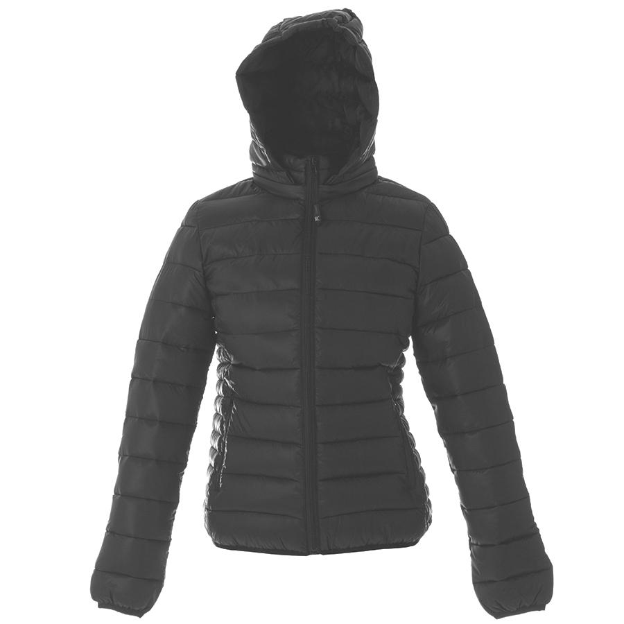 Куртка женская «Vilnius Lady», черный_ XL, 100% нейлон, 20D; подкладка: 100% полиэстер, 300T