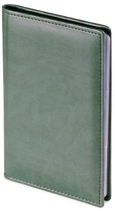 Фотография товара Визитница Velvet, зеленый, 72 визитки