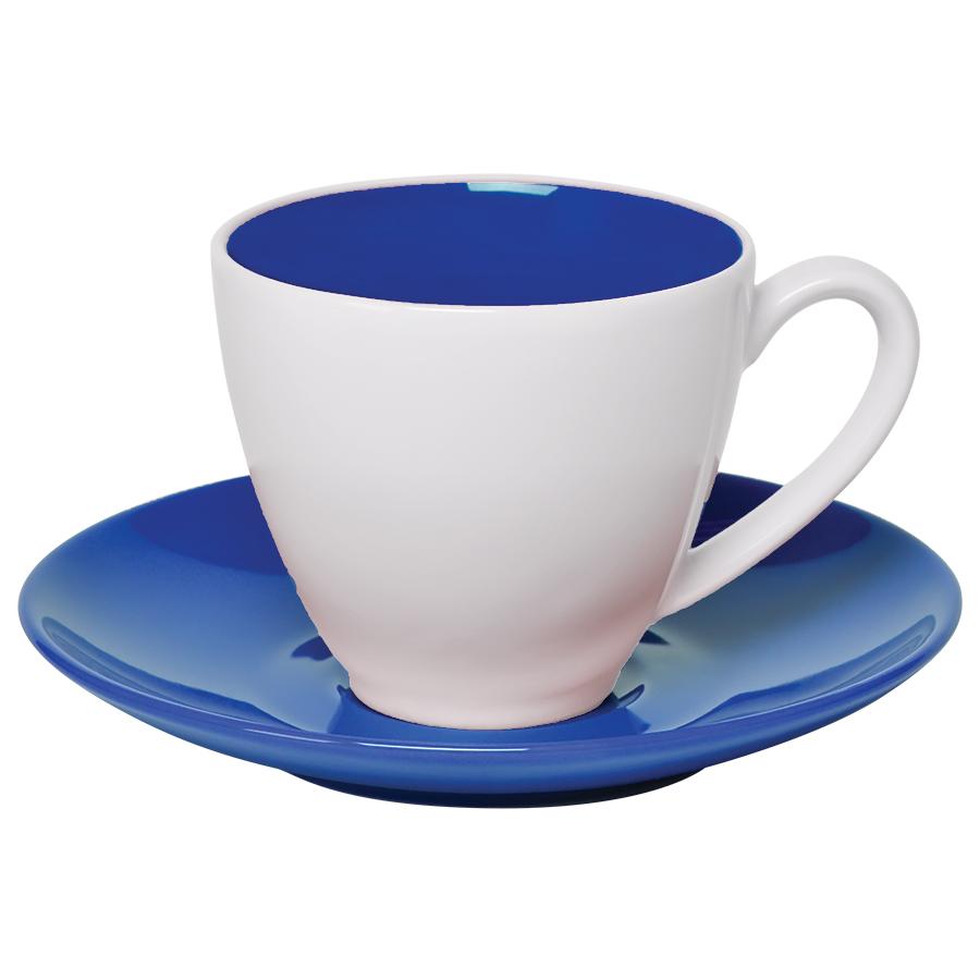 """Чайная пара """"Galena"""" в подарочной упаковке, синий, 200мл, фарфор"""