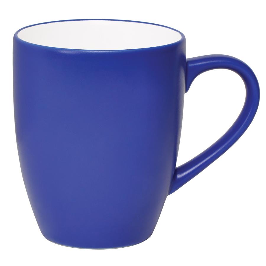 Кружка «Milar», синий, 300мл, фарфор