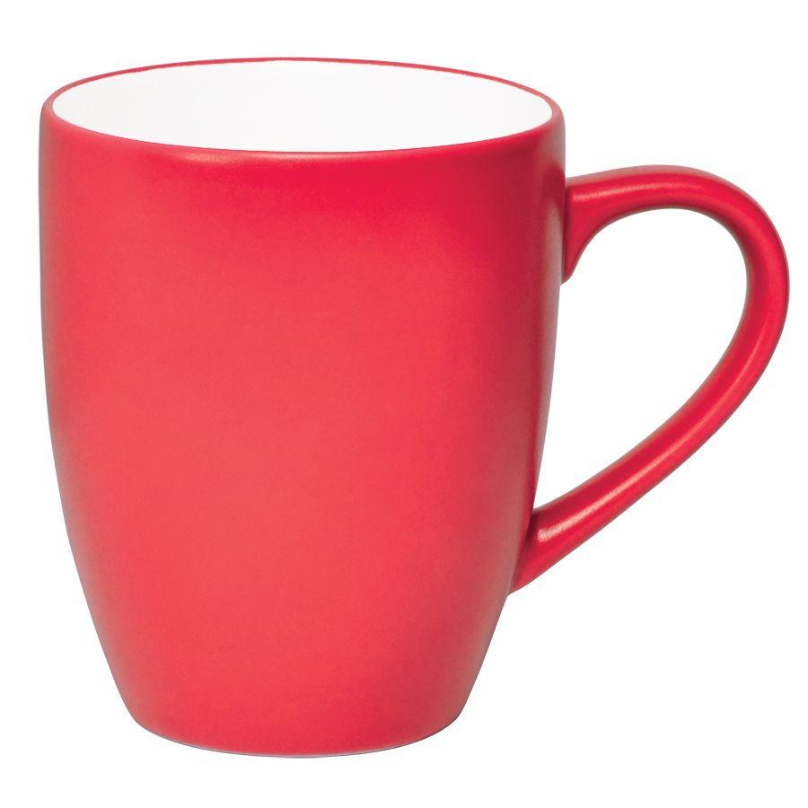 Кружка «Milar», красный, 300мл, фарфор