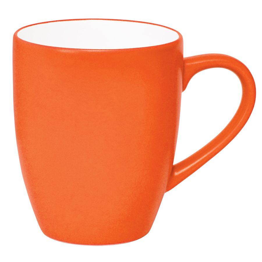 Кружка «Milar», оранжевый, 300мл, фарфор