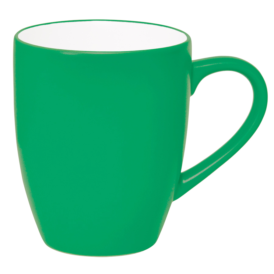Кружка «Milar», зеленый, 300мл, фарфор