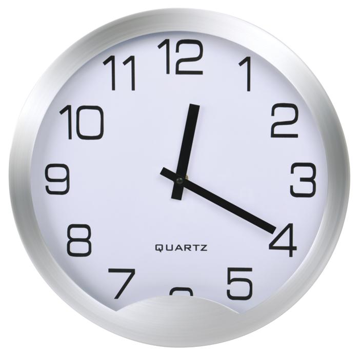 Часы настенные «Мегаполис», D=30 см, H=4 см, металл, без элементов питания