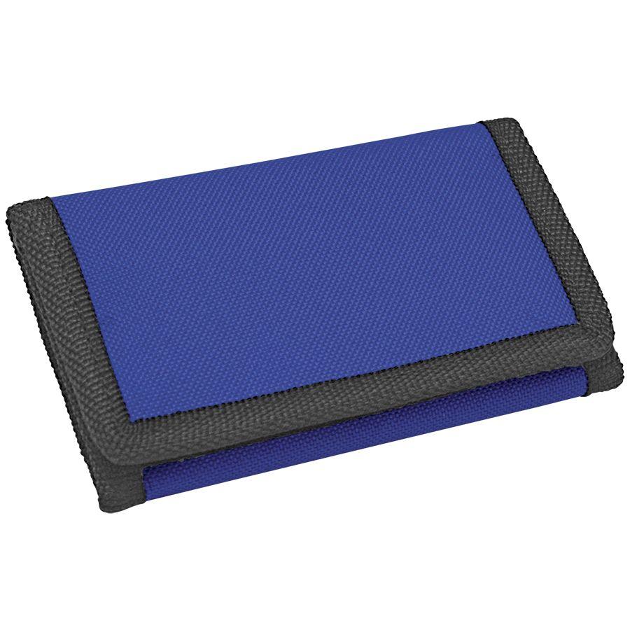 Кошелек «Smart»; синий; 8х12,5х1 см; полиэстер; шелкография