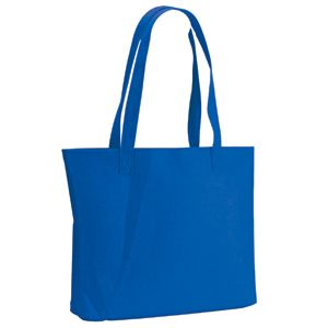 Сумка для покупок «Felt»; синяя; 39х33х8 см; фетр