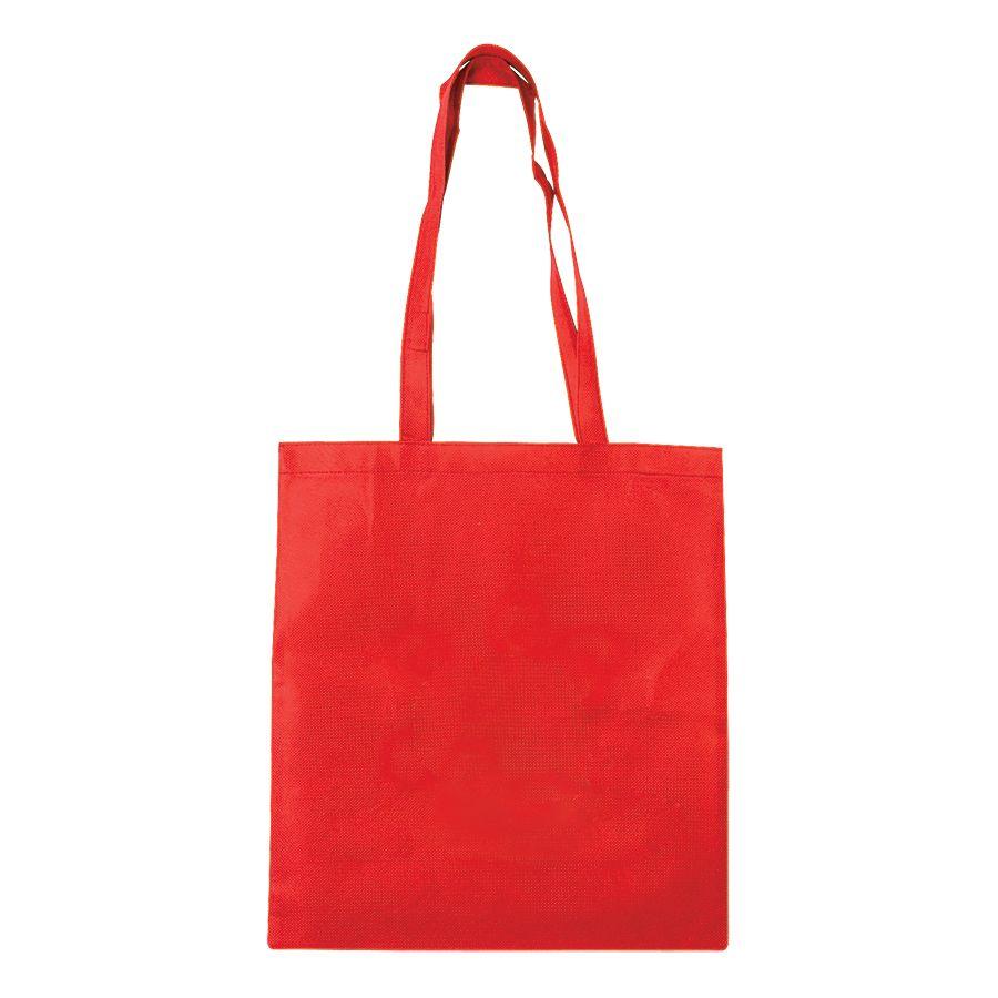 Сумка для покупок «Daily»; красная; 36*40 см; материал нетканый 75г/м2
