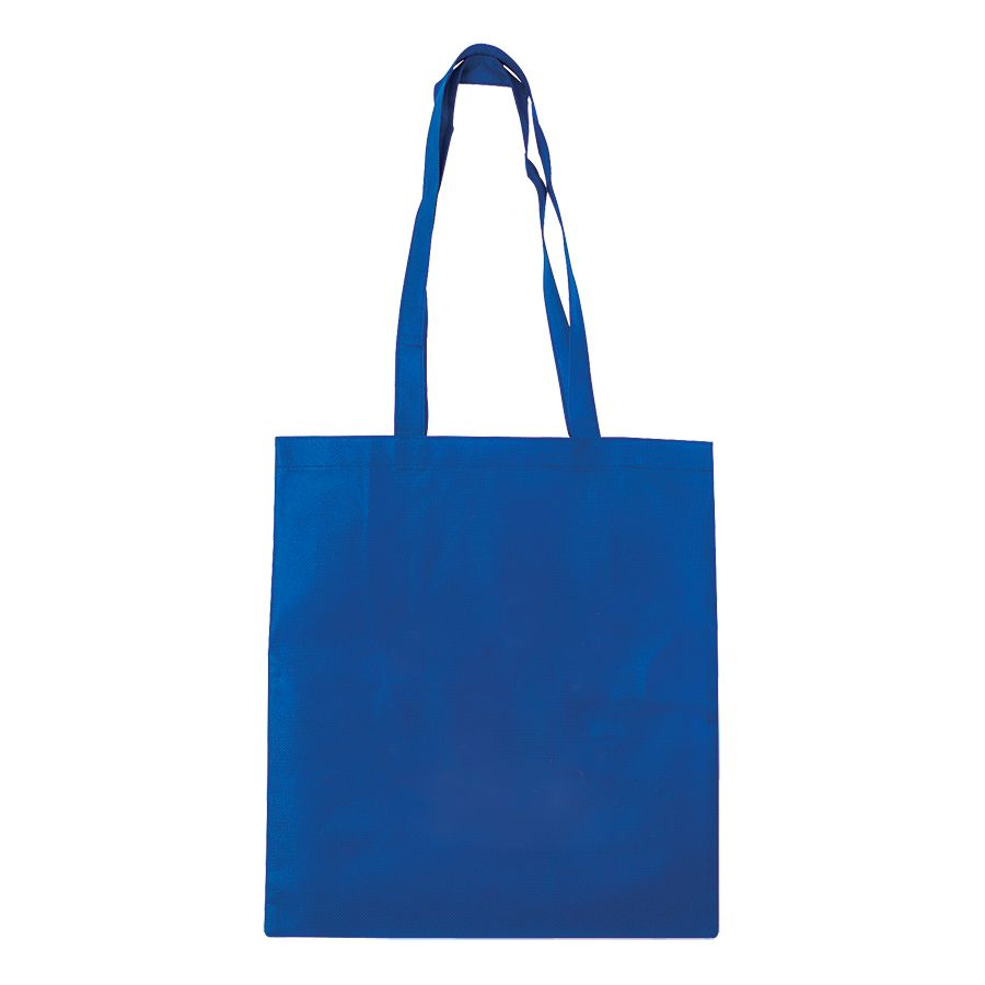 Сумка для покупок «Daily»; синяя; 36*40 см; материал нетканый 75г/м2