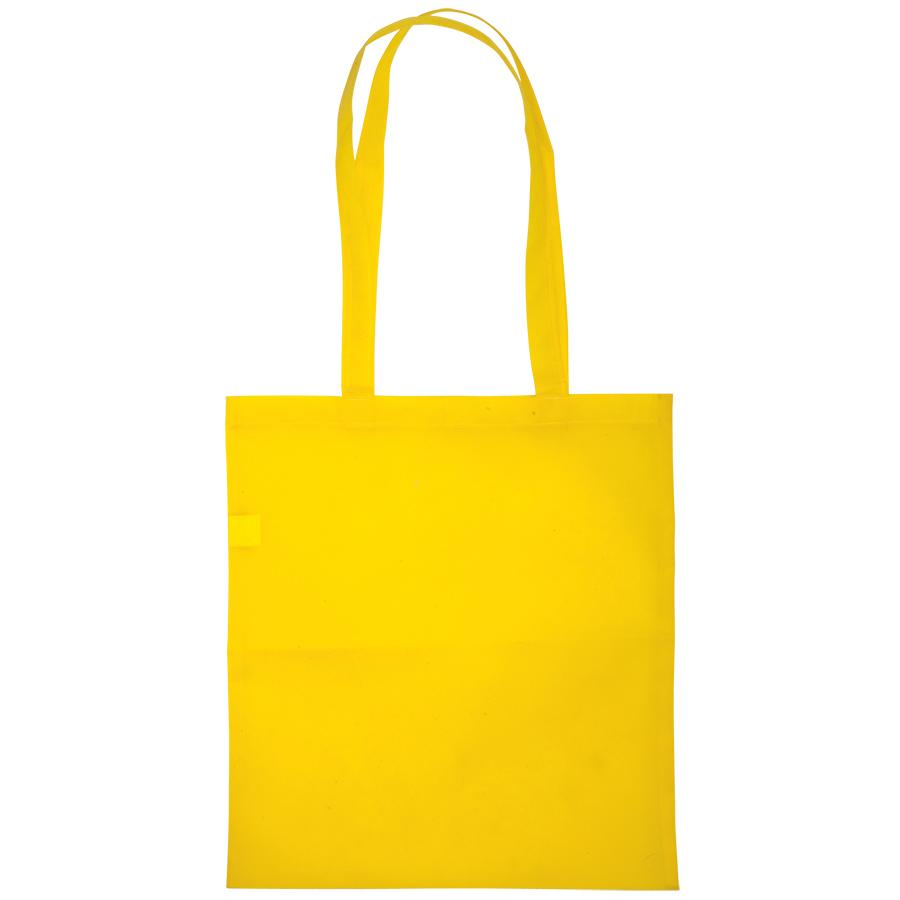 Сумка для покупок «Daily»; желтая; 36*40 см; материал нетканый 75г/м2