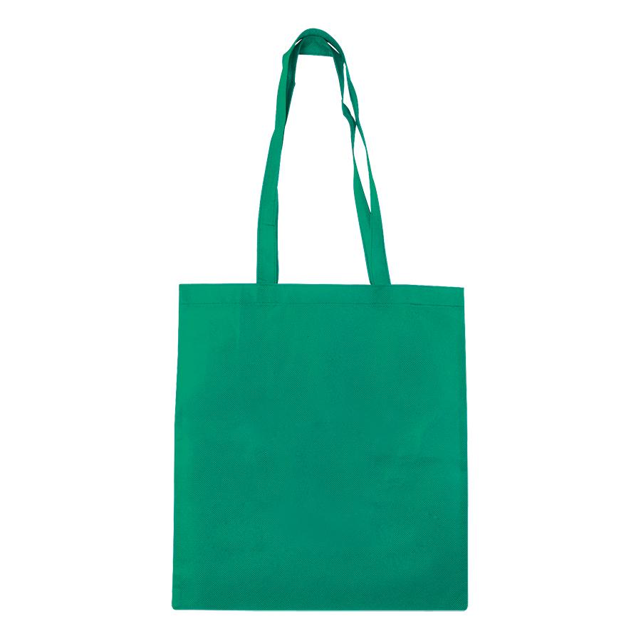 Сумка для покупок «Daily»;зеленая; 36*40 см; материал нетканый 75г/м2