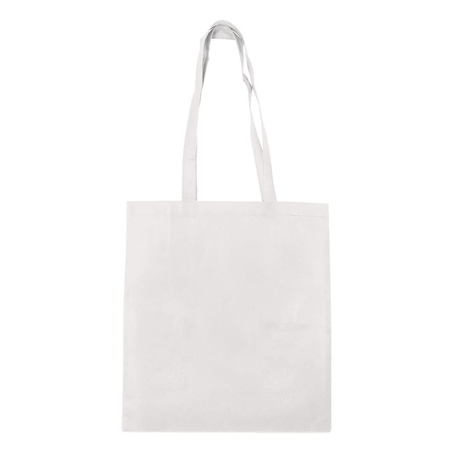 """Сумка для покупок """"Daily""""; белая; 36*40 см; материал нетканый 75г/м2"""