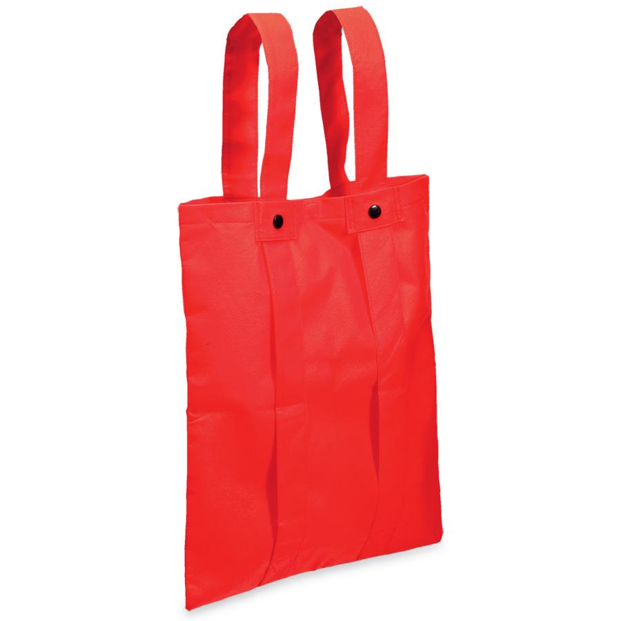 Сумка-рюкзак «Slider»; красный; 36,7*40,8 см; материал нетканый 80г/м2