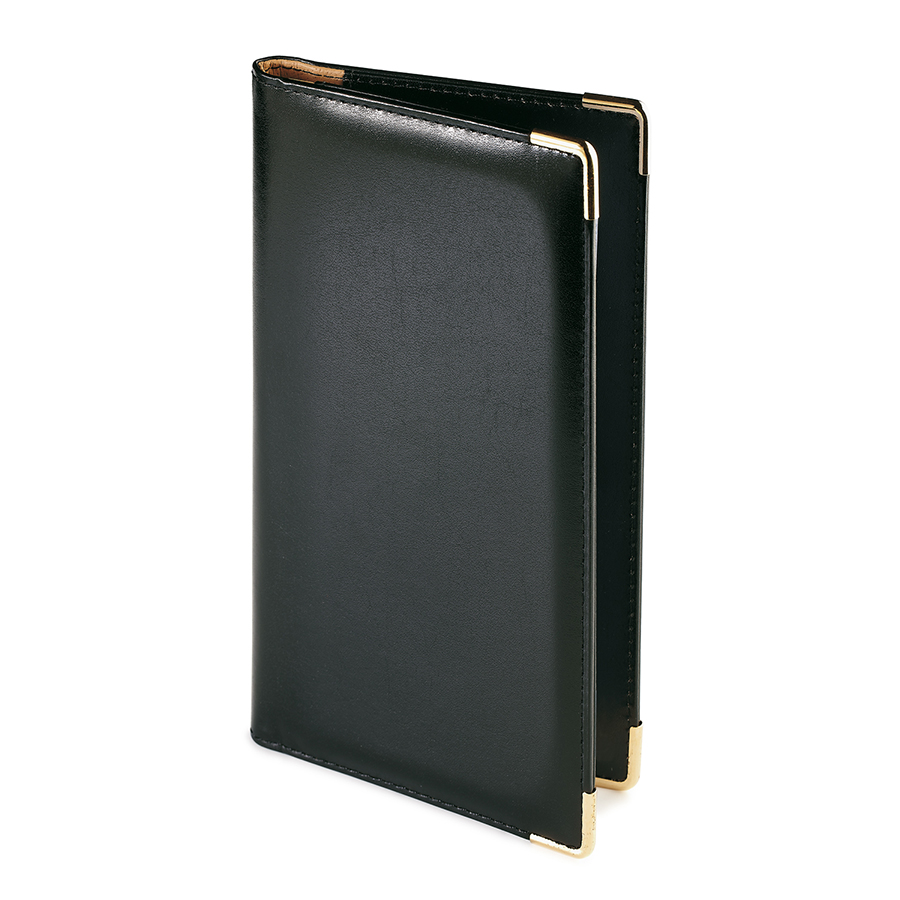 Фотография товара Визитница Imperium, черный, 125х203 мм, на 84 визитки