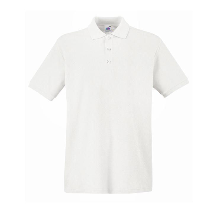 Поло «Premium Polo», белый_M, 100% х/б, 170 г/м2