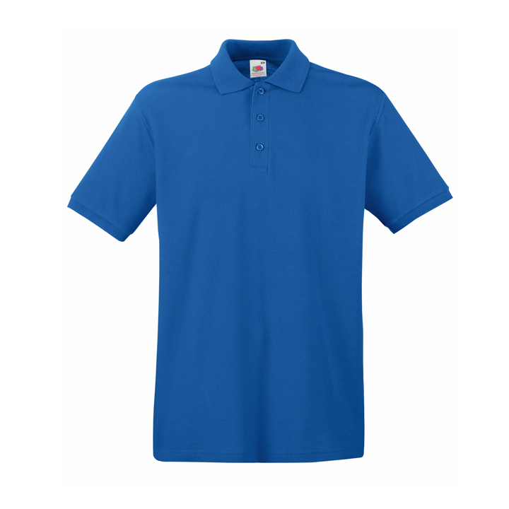 Поло «Premium Polo», ярко-синий_L, 100% х/б, 180 г/м2