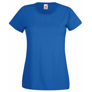 "Футболка ""Lady-Fit Valueweight T"", синий_XS, 100% хлопок, 165 г/м2"
