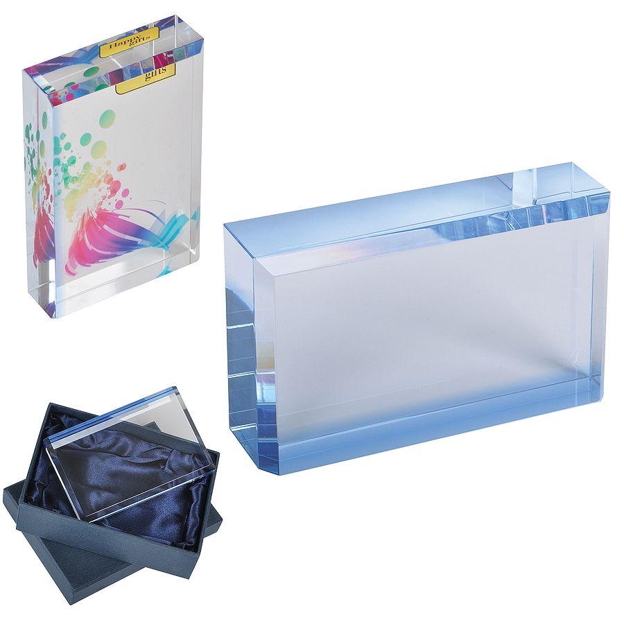 Кристалл «Glass», 12х7,5х2,5см, стекло