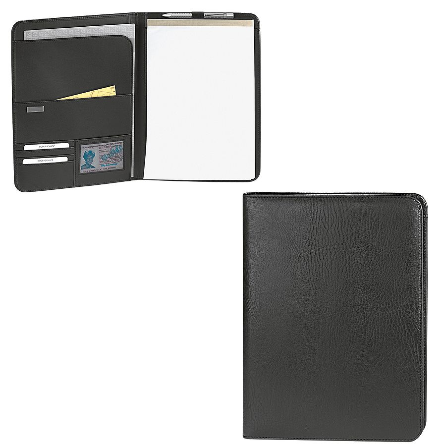 Папка для документов А4 «Новара», 24,5 x 2 x 32 cм, кожа, тиснение, шильд