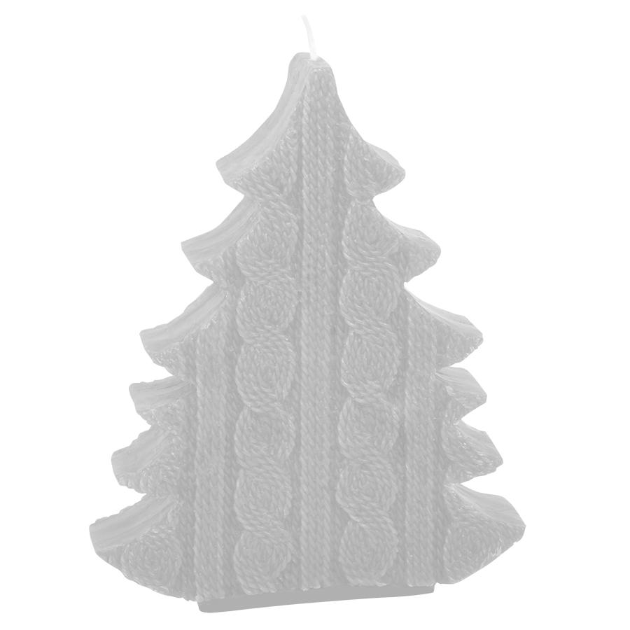 Фотография товара Свеча  «ЕЛКА», белый ,  воск, 15х3.6х19 см