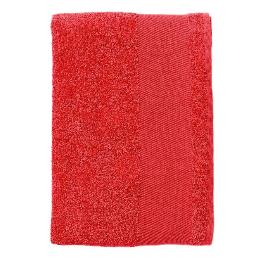 Полотенце «Island 50», красный_50*100 см., 100% хлопок, 400г/м2