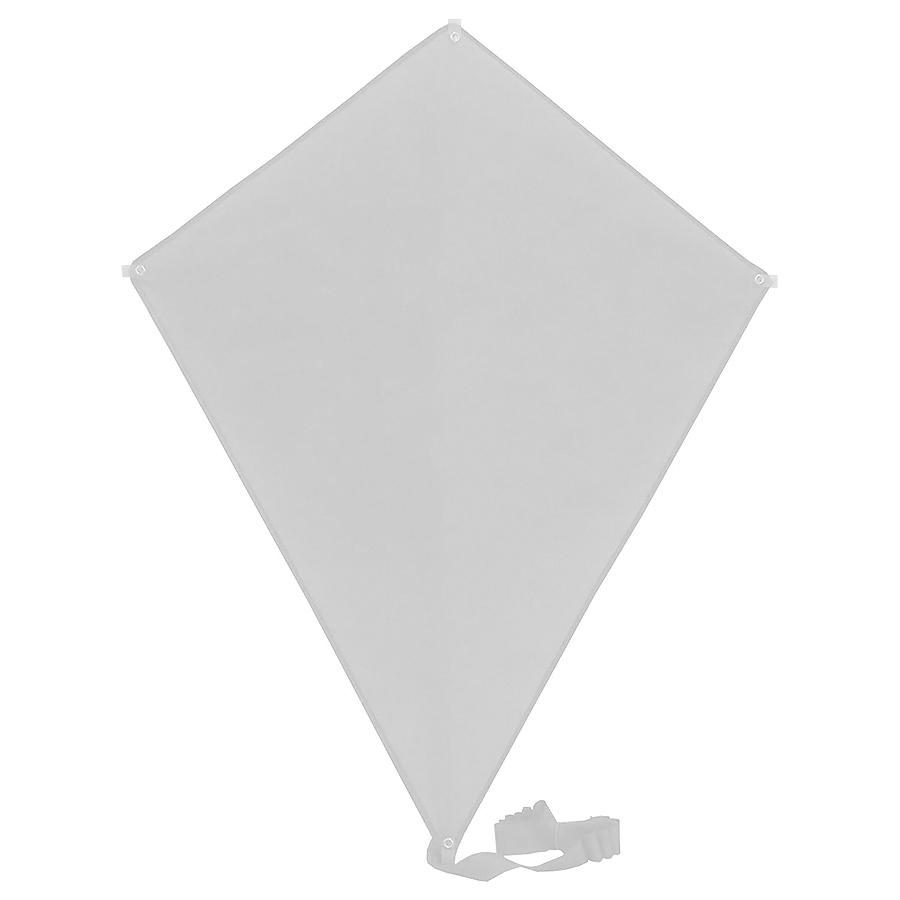 Воздушный змей «РОМБ»; белый; 70*60 см; полиэстер; шелкография