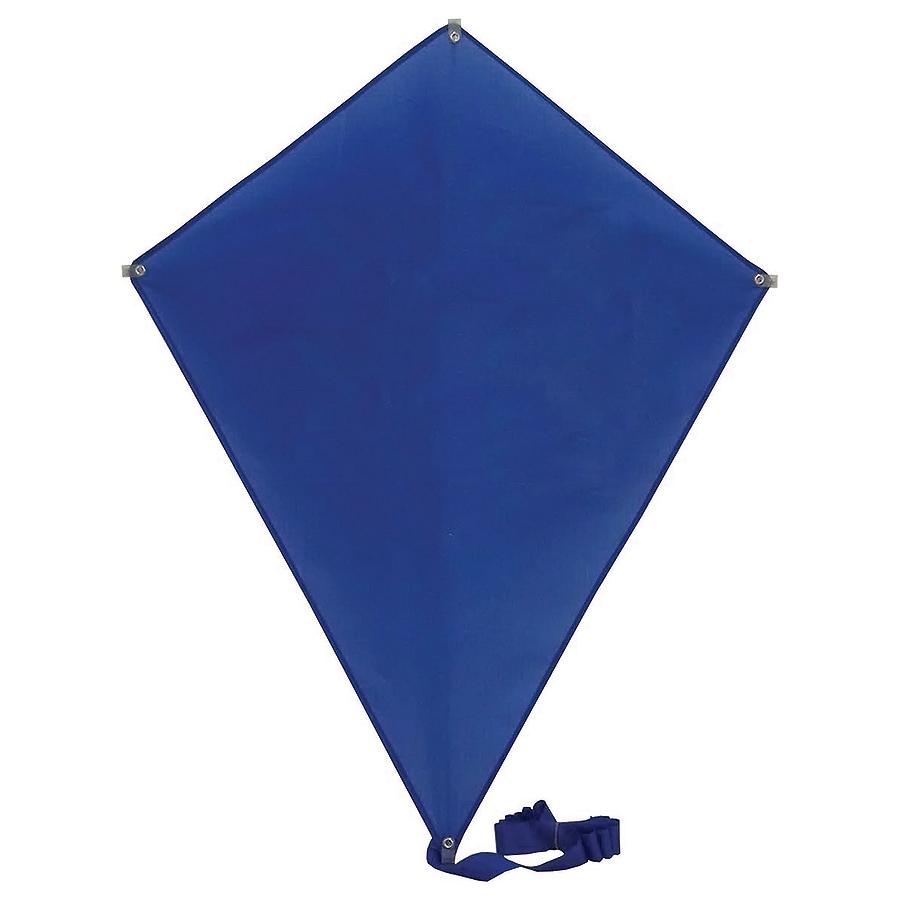 Фотография товара Воздушный змей «РОМБ»;  синий; 70*60 см; полиэстер; шелкография