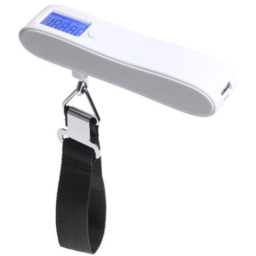 Универсальное зарядное устройство «Hargol» (2200mAh) с багажными весами, 14,3х22,5х3,3 см,пластик