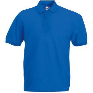 Поло «65/35 Polo», ярко-синий_2XL, 65% п/э, 35% х/б, 180 г/м2