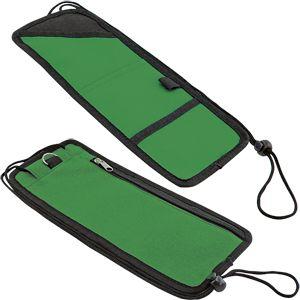 Органайзер дорожный «Trip»; зеленый; 30х12,5х0,3 см; Полиэстер; шелкография