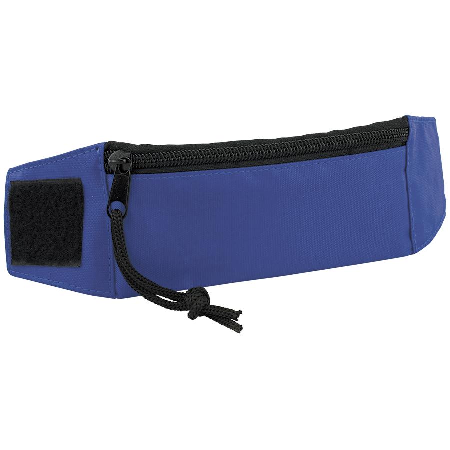 Кошелек на запястье «Ronda»; синий; 27х7х0,4 см; полиэстер; шелкография