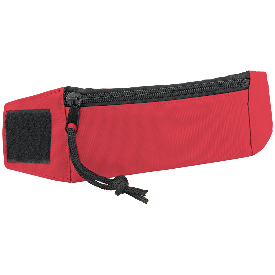 Кошелек на запястье «Ronda»; красный; 27х7х0,4 см; полиэстер; шелкография