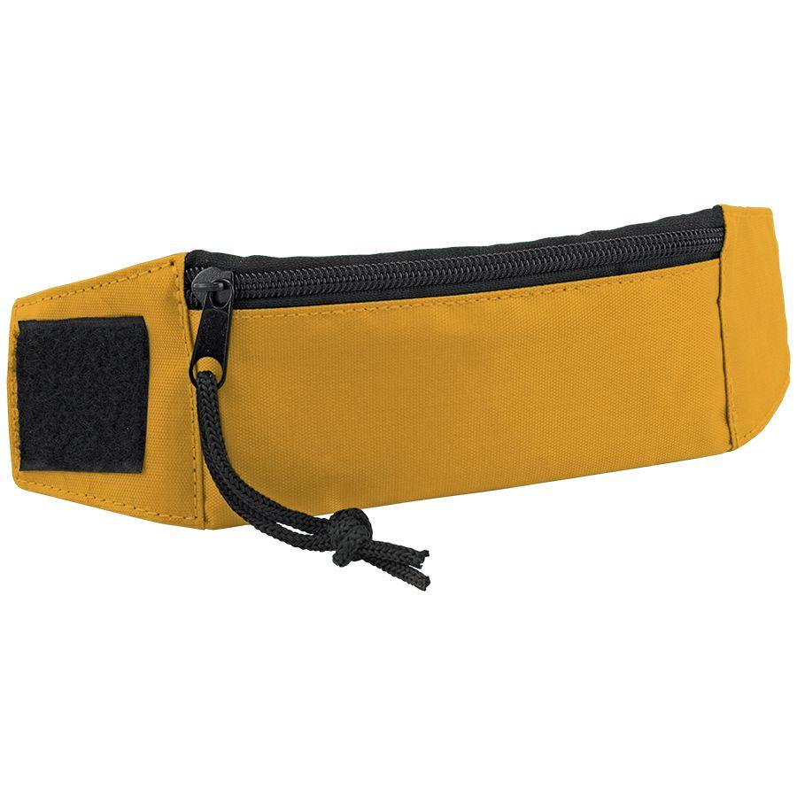 """Кошелек на запястье """"Ronda""""; желтый; 27х7х0,4 см; полиэстер; шелкография"""