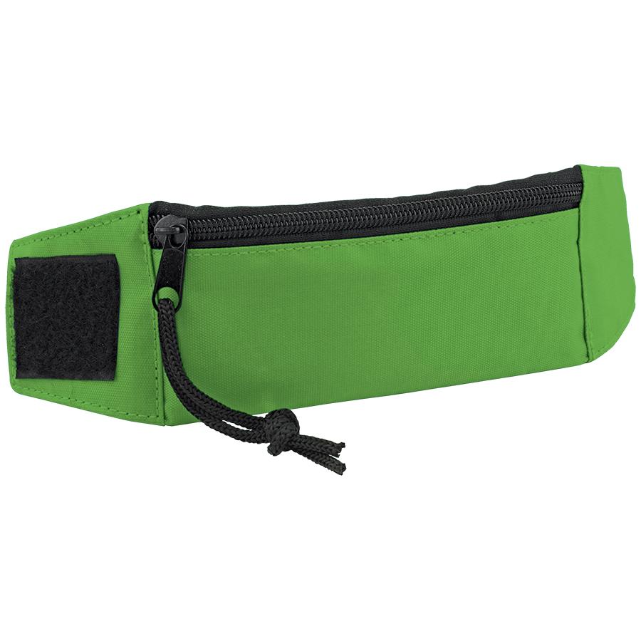 """Кошелек на запястье """"Ronda""""; зеленый; 27х7х0,4 см; полиэстер; шелкография"""