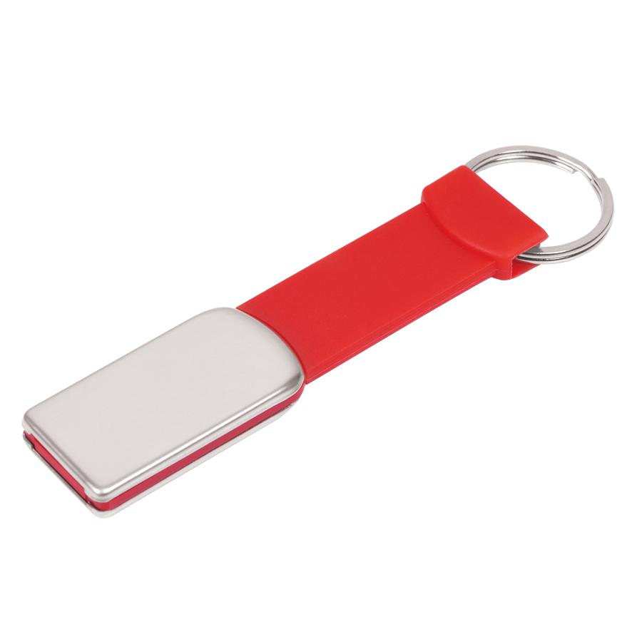 Фотография товара USB flash-карта «Flexi» (8Гб), красный, 8,5х2х0,5 см, металл, пластик