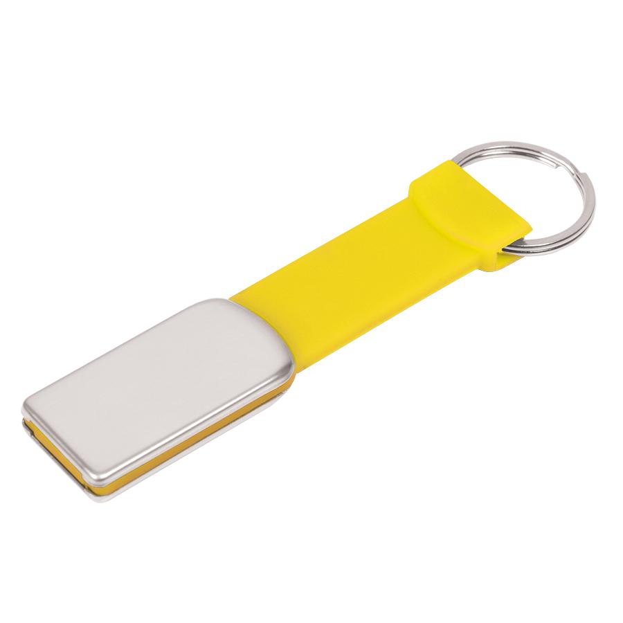 Фотография товара USB flash-карта «Flexi» (8Гб), желтый, 8,5х2х0,5 см, металл, пластик