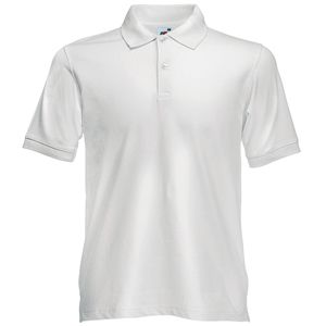 Поло «Slim Fit Polo», белый_2XL, 97% х/б, 3% эластан, 210 г/м2