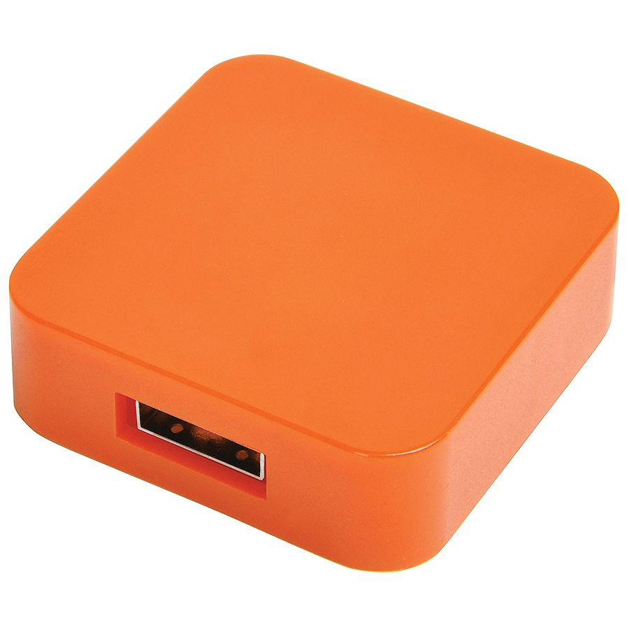 USB flash-карта «Akor» (8Гб),оранжевая, 4х4х1,3см,пластик