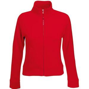 """Толстовка """"Lady-Fit Sweat Jacket"""", красный_XS, 75% х/б, 25% п/э, 280 г/м2"""