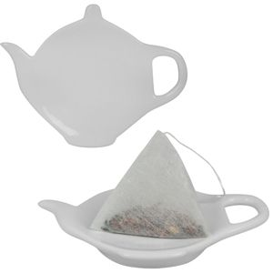 Подставка для чайных пакетиков,11х8,5х1,7см,фарфор