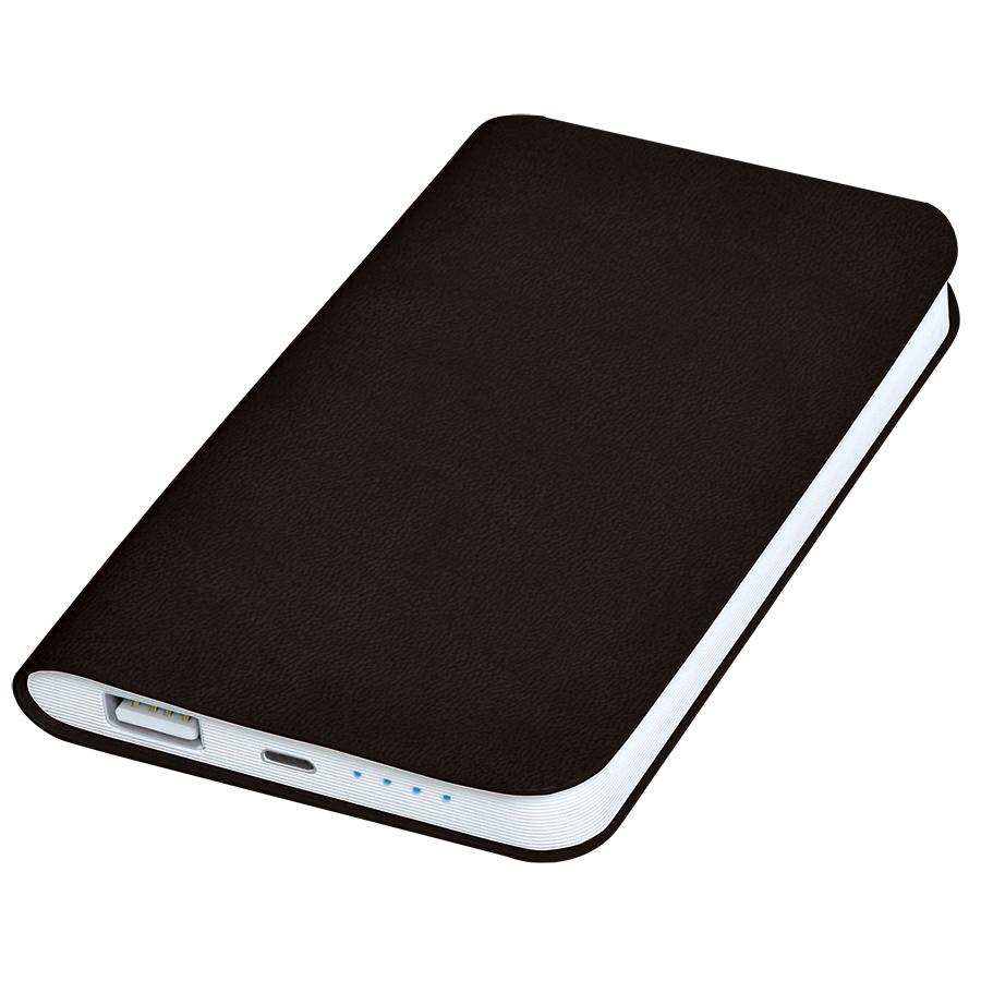 Фотография товара Универсальное зарядное устройство «Softi» (4000mAh),черный, 7,5х12,1х1,1см, искусственная кожа,пласт