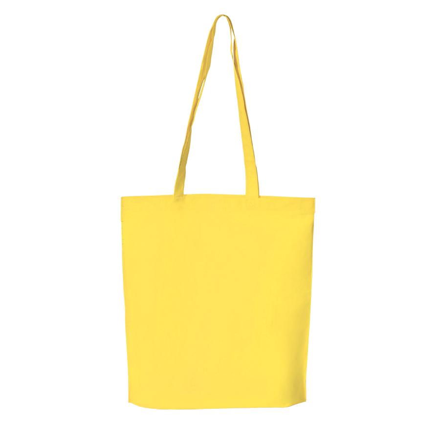 Сумка для покупок «PROMO»;  желтый; 38 x 45 x 8,5 см;  нетканый 80г/м2
