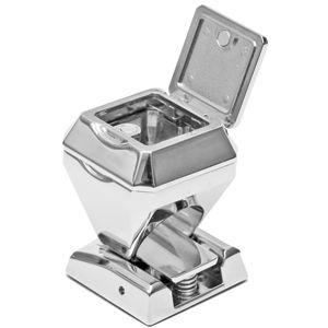 Пепельница «ПЕРСТЕНЬ»; 3,4х3,4х4,9 см; металл; лазерная гравировка, шильд