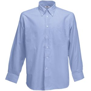 Рубашка «Long Sleeve Oxford Shirt», светло-голубой_XL, 70% х/б, 30% п/э, 135 г/м2